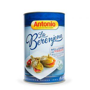 Berenjena Rellena Pimientos Conservas Antonio