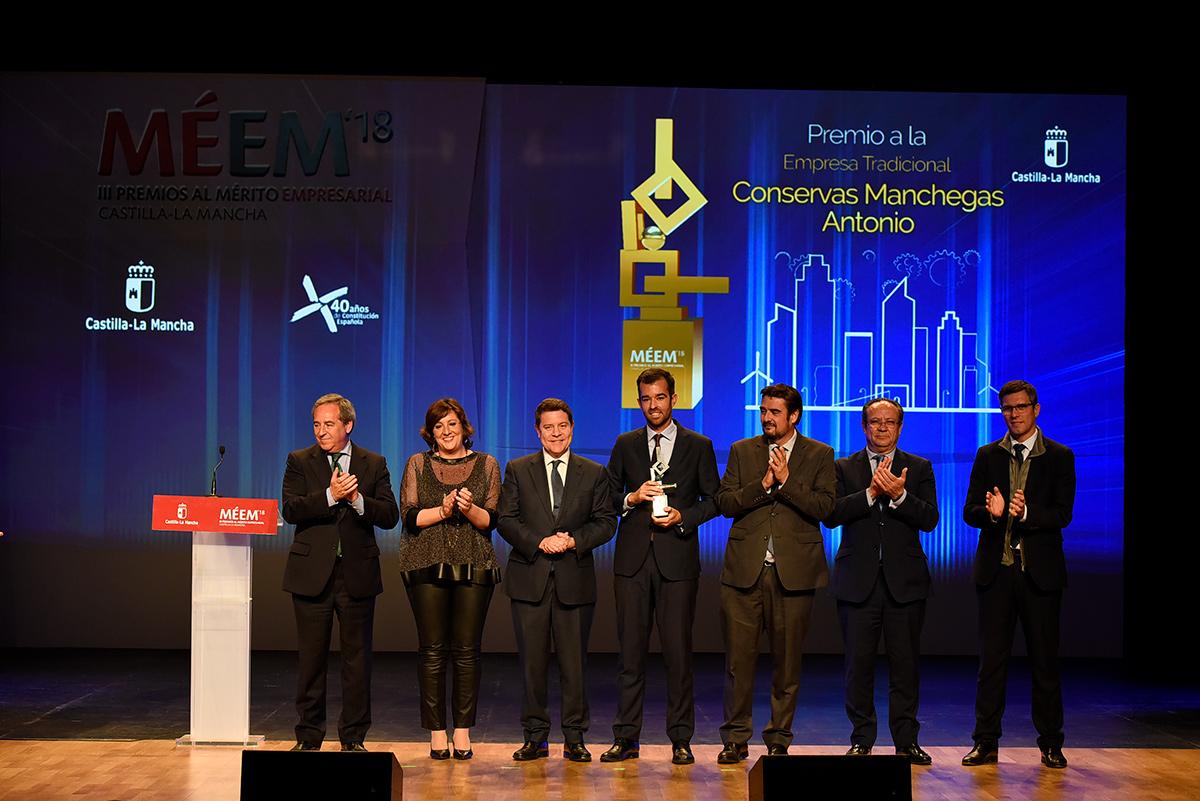 Business achievement award 2018 Conservas Antonio S.L.